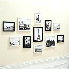 white wall picture frames photo wall picture frame decoration black and white combination set simple style white wall picture frames