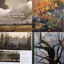 suzanne brooker s new book includes the paintings of norman lundin kimberly clark the elements of landscape oil painting