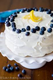 Lemon Blueberry Layer Cake Sallys Baking Addiction