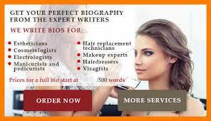 makeup artist bio templates vidalondon