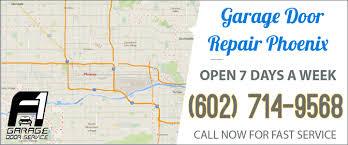 phoenix garage door repair service