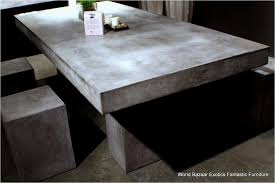 concrete outdoor dining table. Outdoor Concrete Dining Table New Trend 67 Home Decorating Ideas