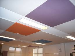 fabric ceiling panels as