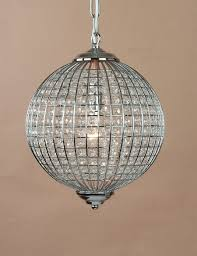 living elegant round glass ball chandelier 7 and large crystal home design ideas picture flower with