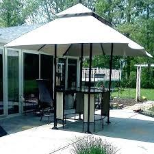 8 by gazebo x canopy garden treasures bar table replacement treasure gazebos instruction manual