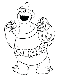 Free Printable Coloring Pages Sesame Street Characters Free Coloring