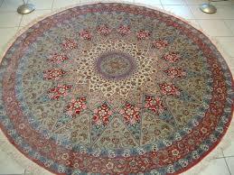 large circular rugs round area