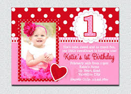 Invitation Cards Size Baby Girl First Birthday Invitations And Your