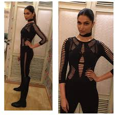Deepika Padukone in XXX mood wearing La Senza Stylingstars