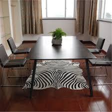 Zebra Rug Living Room Online Buy Wholesale Zebra Rug From China Zebra Rug Wholesalers