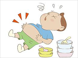 食べ 過ぎ お腹 パンパン