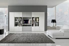 image of black white modern living room rugs