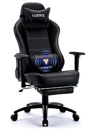 Office reclining chair High Back Uomax Gaming Chair Big And Tall Ergonomic Rocking Desk Chair For Computer Racing Style Office Stresslesscom Amazoncom Uomax Gaming Chair Big And Tall Ergonomic Rocking Desk