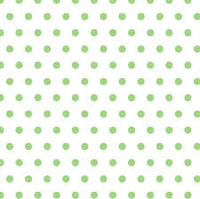 lime green polka dot contemporary