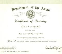 Class Completion Certificate Template Awesome Army Promotion