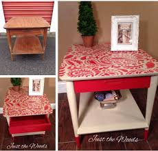 cutting edge furniture. A DIY Stenciled Mid Century Modern Side Table Using The Paisley Craft Stencil From Cutting Edge Furniture R