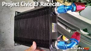 project civic ef racecar part 4 improving cooling efficiency with earl s performance