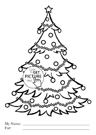 Small Picture Christmas tree coloring pages for kids printable free coloing