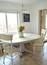chalk paint dining table makeover little vintage nest room magnificent and chairs gumtree glasgow small nz