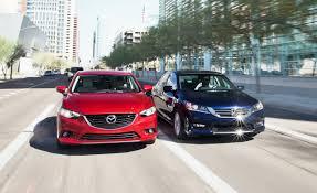 2014 Mazda 6 Grand Touring vs. 2013 Honda Accord EX-L | Comparison ...