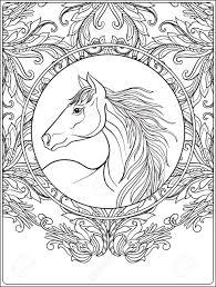 Kleurplaten Paarden Mandala Krijg Duizenden Kleurenfotos Van De Beste