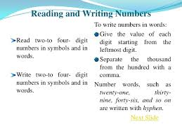 essay numbers written 10 rules for writing numbers and numerals daily writing tips