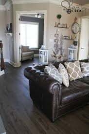 what color curtains go with grey walls and brown furniture new flooring reveal and a giveaway living room