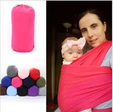 2019 <b>Baby Wrap</b> Carrier Multi Function <b>Portable</b> Baby Cotton Seat ...