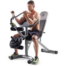 Golds Gym Xrs 20 Olympic Workout Bench Without Rack