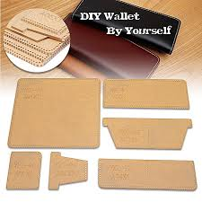 acrylic template for business long wallet leather craft pattern stencil ykl 90