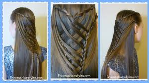 You Tube Hair Style criss cross waterfall mermaid braid hairstyle youtube 6687 by wearticles.com