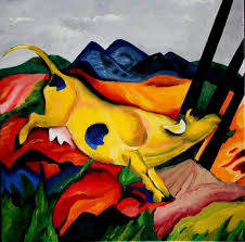 franz marc is my favorite painter if we could do something in the style of