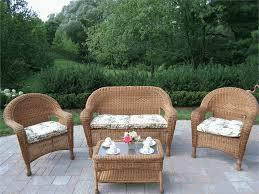 image of wicker patio furniture ideas