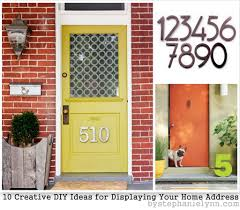 creative ideas home. Turned Into A Much Larger Job Than Anticipated, I\u0027m Looking Forward To All The Fun Updates And Added Curb Appeal That\u0027s Come \u2013 Stylish House Numbers Creative Ideas Home