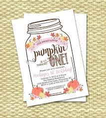 Pumpkin Invitations Template Pumpkin Birthday Invitations Free Printable Party Invitation