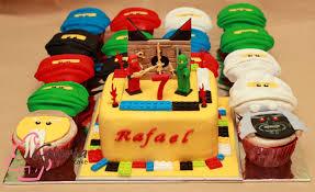 Ninjago™ Birthday Cake and Cupcake