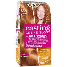 gloss 834 caramel blond