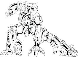 Bumblebee Transformer Coloring Pages Bumbl Transformer Coloring Page