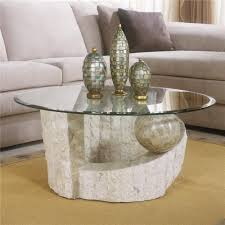topic to large round glass coffee table modern ot