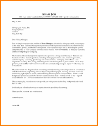 7 Retail Cover Letter Examples Activo Holidays