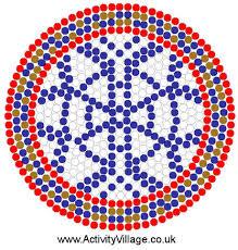 Beaded Dream Catchers Patterns Catcher Fuse Bead Pattern 39