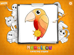 Memollow Coloring Pages App Review Lets Go Van Gogh Ipad Kids