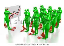 Royalty Free Stock Illustration Of 3 D Cartoon Frogs