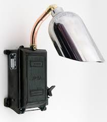 rag and bone man wall light £360 from a vintage fuse box and rag and bone man wall light £360 from a vintage fuse box and