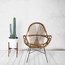 modern rattan furniture. Modern Handwoven Rattan Chairs From WEND Studio Furniture Design Milk