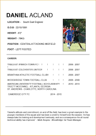 Soccer Resume Example Professional Soccer Player Resume Example Best Of Nice Soccer Resume 11