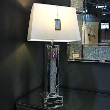 mirrored lamp diamond glitz mirrored table lamp mirrored lamp set mirrored lamps uk mirrored lamp