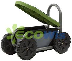 gardening seat on wheels china manufacturer