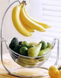 2 In 1 Fruit Bowl Hammock Basket With Banana Hook For Banana Hammock Kitchen
