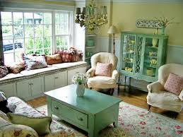 Modern Cottage Living Room Living Room Cottage Living Room Decoration Blue Painted Wall